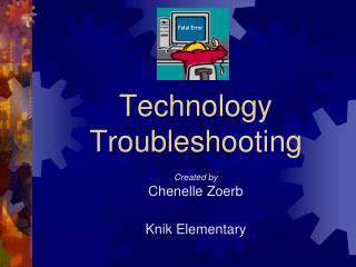 Innovation Troubleshooting