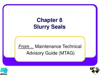 Section 8 Slurry Seals