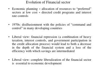 Development of Financial division