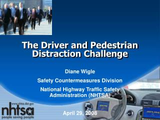 The Driver and Pedestrian Distraction Challenge