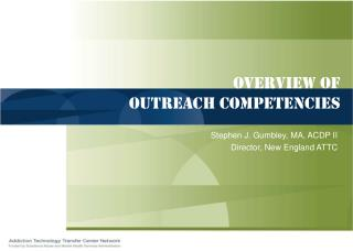 Review of Outreach abilities