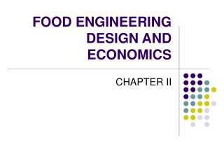 Nourishment ENGINEERING DESIGN AND ECONOMICS