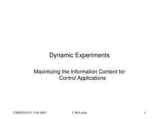 Element Experiments