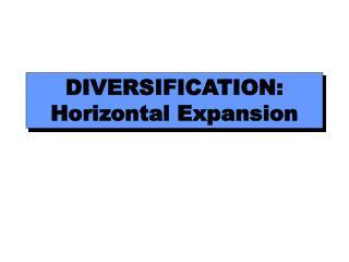 Enhancement: Horizontal Expansion