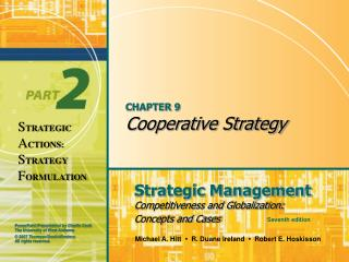 Part 9 Cooperative Strategy