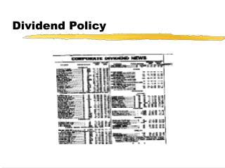Profit Policy