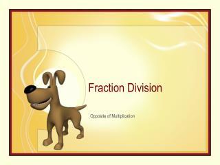 Part Division