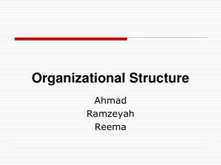 Authoritative Structure