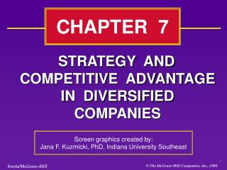 System AND COMPETITIVE ADVANTAGE IN DIVERSIFIED COMPANIES