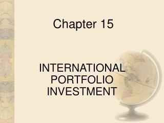 Worldwide PORTFOLIO INVESTMENT