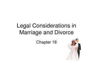 Legitimate Considerations in Marriage and Divorce