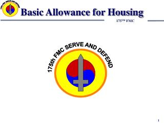 Fundamental Allowance for Housing