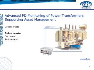 Progressed PD Monitoring of Power Transformers Supporting Asset Management