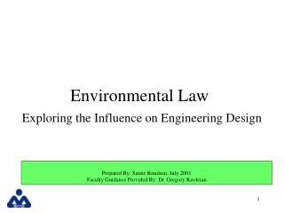 Natural Law Exploring the Influence on Engineering Design