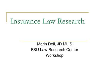 Protection Law Research