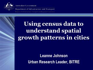 Utilizing statistics information to comprehend spatial development designs in urban communities