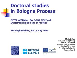 Doctoral studies in Bologna Process
