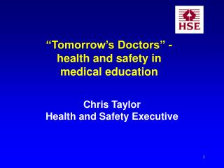 Tomorrow s Doctors - wellbeing and security in restorative training