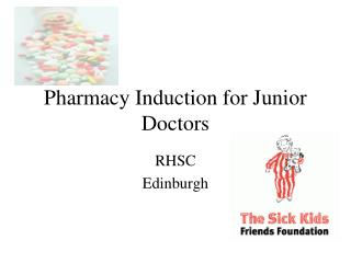 Drug store Induction for Junior Doctors