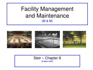 Office Management and Maintenance M