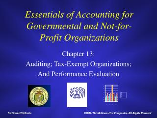 Essentials of Accounting for Governmental and Not-revenue driven Organizations