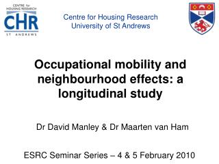Word related portability and neighborhood impacts: a longitudinal study