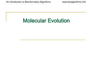 Sub-atomic Evolution