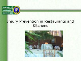 Damage Prevention in Restaurants and Kitchens