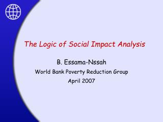 The Logic of Social Impact Analysis