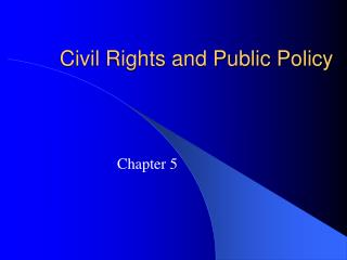 Social liberties and Public Policy