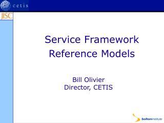 Administration Framework Reference Models