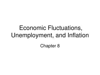 Financial Fluctuations, Unemployment, and Inflation