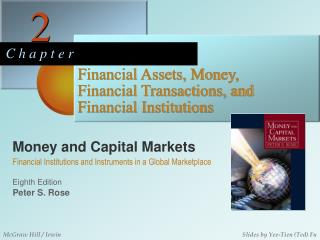Monetary Assets, Money, Financial Transactions, and Financial Institutions