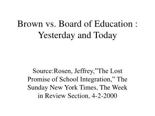 Chestnut versus Leading body of Education : Yesterday and Today