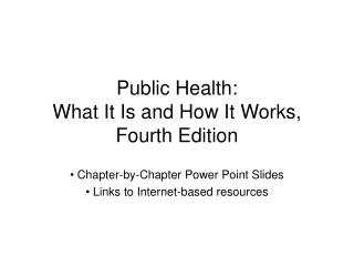 General Health: What It Is and How It Works, Fourth Edition