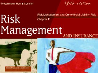 Hazard Management and Commercial Liability Risk Chapter 11