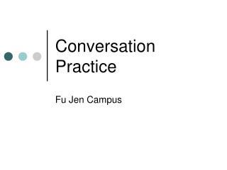 Discussion Practice