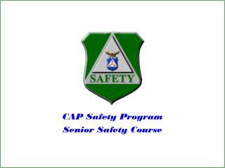 Top Safety Program Senior Safety Course
