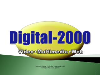 Copyright Digital 2000, Inc . also, Doug Copp All Rights Reserved, 2008