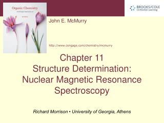 11.1 Nuclear Magnetic Resonance Spectroscopy