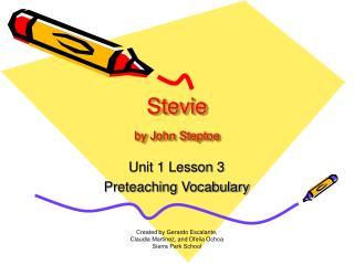 Stevie by John Steptoe