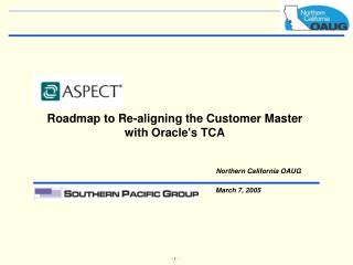 Guide to Re-adjusting the Customer Master to Oracles TCA