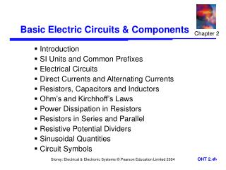 Essential Electric Circuits Components