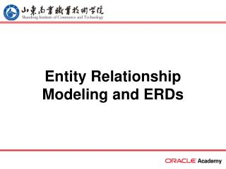 Element Relationship Modeling and ERDs