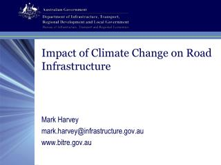 Effect of Climate Change on Road Infrastructure