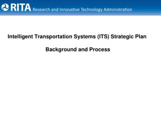Canny Transportation Systems ITS Strategic Plan Background and Process