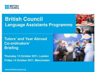 English Council Language Assistants Program