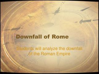 Destruction of Rome