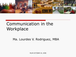 Correspondence in the Workplace