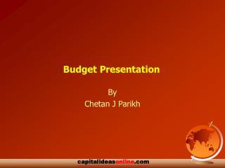 Financial plan Presentation